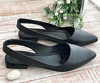 Босоножки женские чёрные очень модные 3261 чер размеры 36-40, фото 1