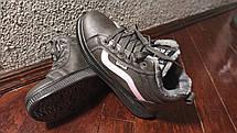 Стильные женские зимние ботинки сникерсы, фото 3