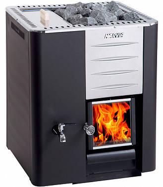 Harvia 20 LS/RS печь для бани на дровах без выноса со стеклом + бак, фото 2