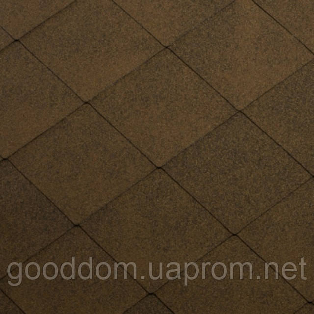 """Гибкая черепица """"Katepal"""" Super Foxy (коричневый) - """"GooDDom"""" в Киеве"""
