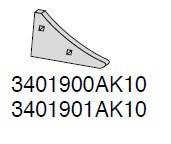 Клин польової дошки 3401900AK10