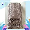 """Полотенце махровое для лица.  Vip Cotton """"VASE"""" :: Sikel. 50*90. Турция. Плотность: 500 г/м2, фото 3"""