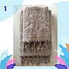 """Полотенце махровое для лица.  Vip Cotton """"VASE"""" :: Sikel. 50*90. Турция. Плотность: 500 г/м2, фото 2"""