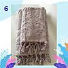 """Полотенце махровое для лица.  Vip Cotton """"VASE"""" :: Sikel. 50*90. Турция. Плотность: 500 г/м2, фото 6"""