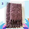 """Полотенце махровое для лица.  Vip Cotton """"VASE"""" :: Sikel. 50*90. Турция. Плотность: 500 г/м2, фото 4"""