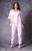Женский льняной костюм Poliit 7168
