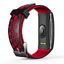 Фитнес браслет Smart Band MX Q8S Тонометр (Color Screen) Красный, фото 3