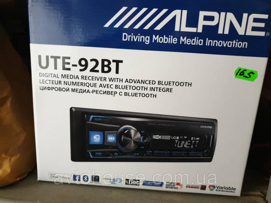 Alpine UTE-92BT с Bluetooth