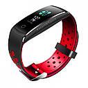 Фитнес браслет Smart Band MX Q8S Тонометр (Color Screen) Красный, фото 5