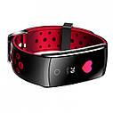 Фитнес браслет Smart Band MX Q8S Тонометр (Color Screen) Красный, фото 2