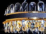 Незвичайна кришталева світлодіодна люстра 9602/500, фото 4