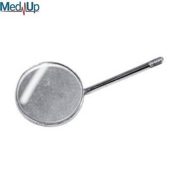 Дзеркало стоматологічне плоске просте розмір 4, діаметр 22 мм, без ручки, SD-0771-22