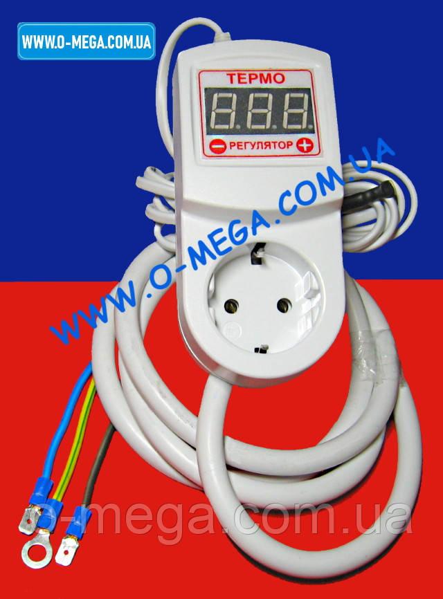 Терморегулятор таймер ЦТРТ-А для автоклава (стерилизатора) 16А точность настройки 0,1°С