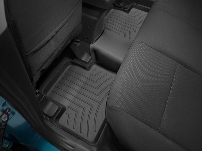 Ковры резиновые WeatherTech Mitsubishi ASX 2020+  задний черный