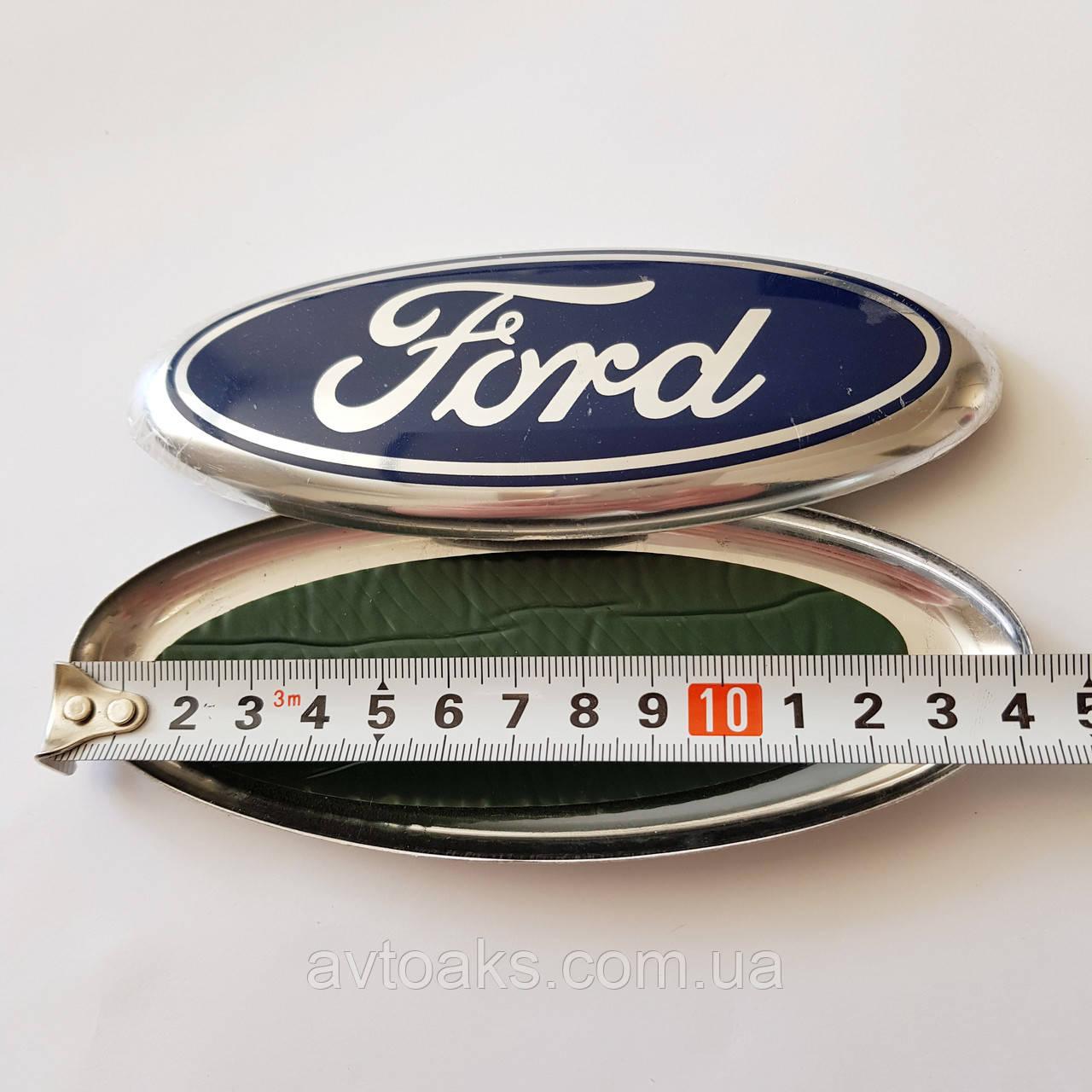 Эмблема накладка Ford, 144х58 мм.