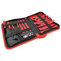 Инструменты для снятия обшивки (облицовки) авто Набор 19 шт в органайзере (СО-19)