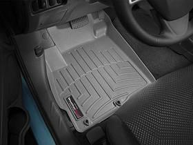 Ковры резиновые WeatherTech Citroen C4 Aircross 2012+ передние серые