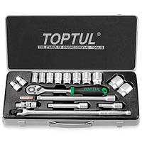 Инструмент для СТО, шиномонтажа TOPTUL  набор 18 ед.