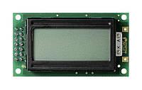 Текстовый экран 8×2 / янтарный с чёрным