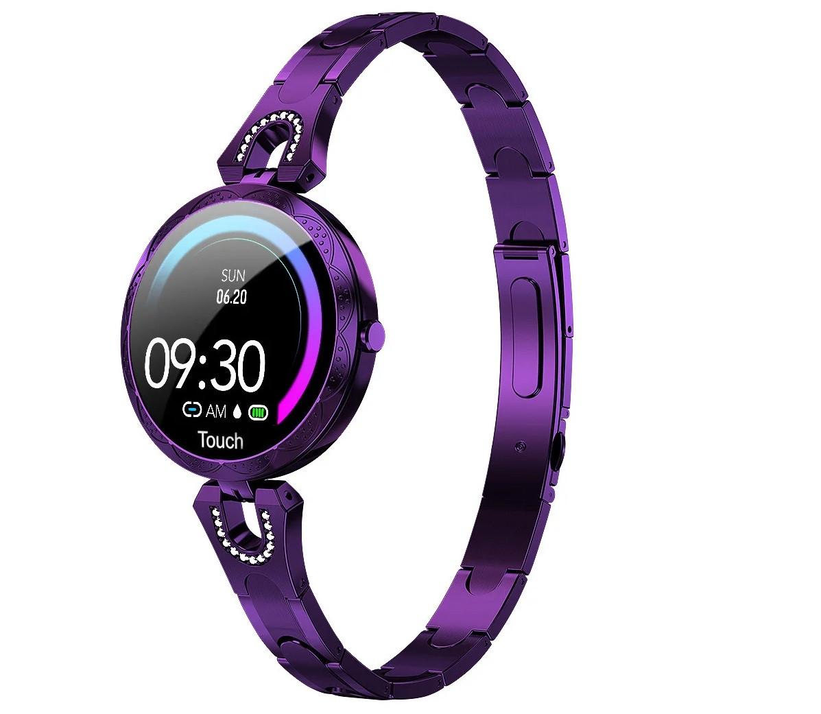 Женские умные фитнес часы Smart band Colmi AK15 Purple