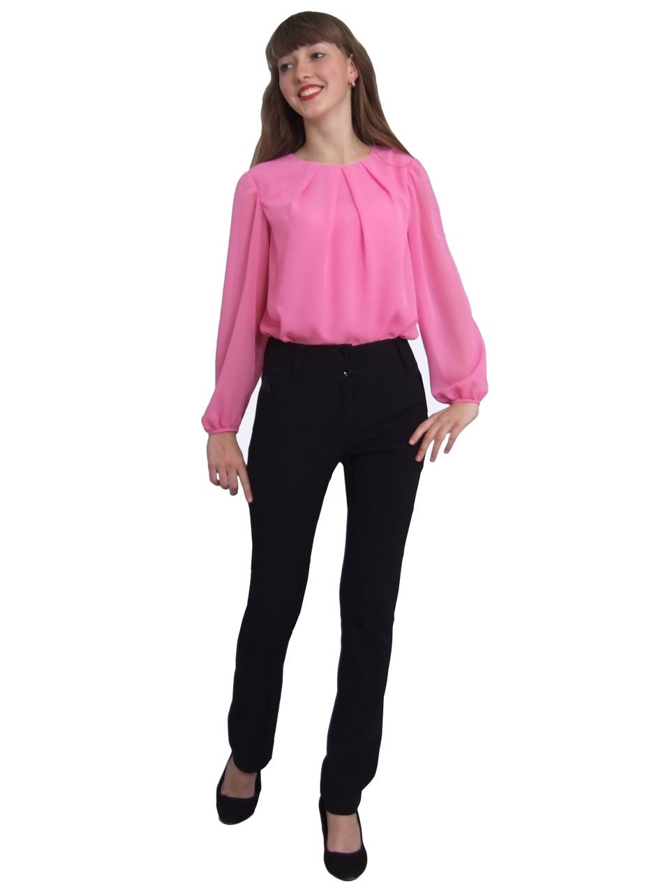 """Блузка дитяча для дівчаток М-1086 зростання 134 140 146 152 158 і 164 біла тм """"Попелюшка"""""""