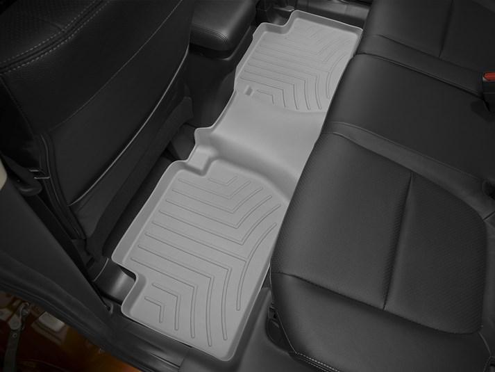 Ковры резиновые WeatherTech Mitsubishi Outlander 2015+ задний серый