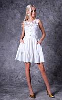 Женское платье из креп-батист Poliit 8709