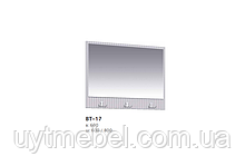 Дзеркало ВТ-17 800 дуб вєнге темний/дуб сонома трюфель (Києвський Стандарт)