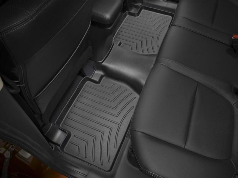 Ковры резиновые WeatherTech Mitsubishi Outlander 2010-2012 задний черный