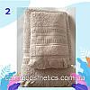 "Полотенце махровое для лица. Vip Cotton ""SAÇAKLI ""ASMALI KONAK"" :: Sikel. 50*90. Турция. Плотность: 500 г/м2, фото 4"