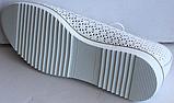 Мокасини жіночі шкіряні маленького розміру від виробника модель БР5011М, фото 3