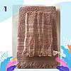 "Полотенце махровое для лица. Vip Cotton ""SAÇAKLI ""ASMALI KONAK"" :: Sikel. 50*90. Турция. Плотность: 500 г/м2, фото 2"