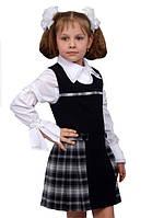 """Сарафан школьный для девочки М-859 рост 122 128 134 140 146 152  тм """"Попелюшка"""", фото 1"""