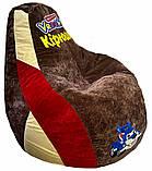 Безкаркасне Крісло, пуф груша Врумиз, фото 3