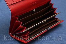 Гаманець червоний місткий довгий Balisa, фото 2