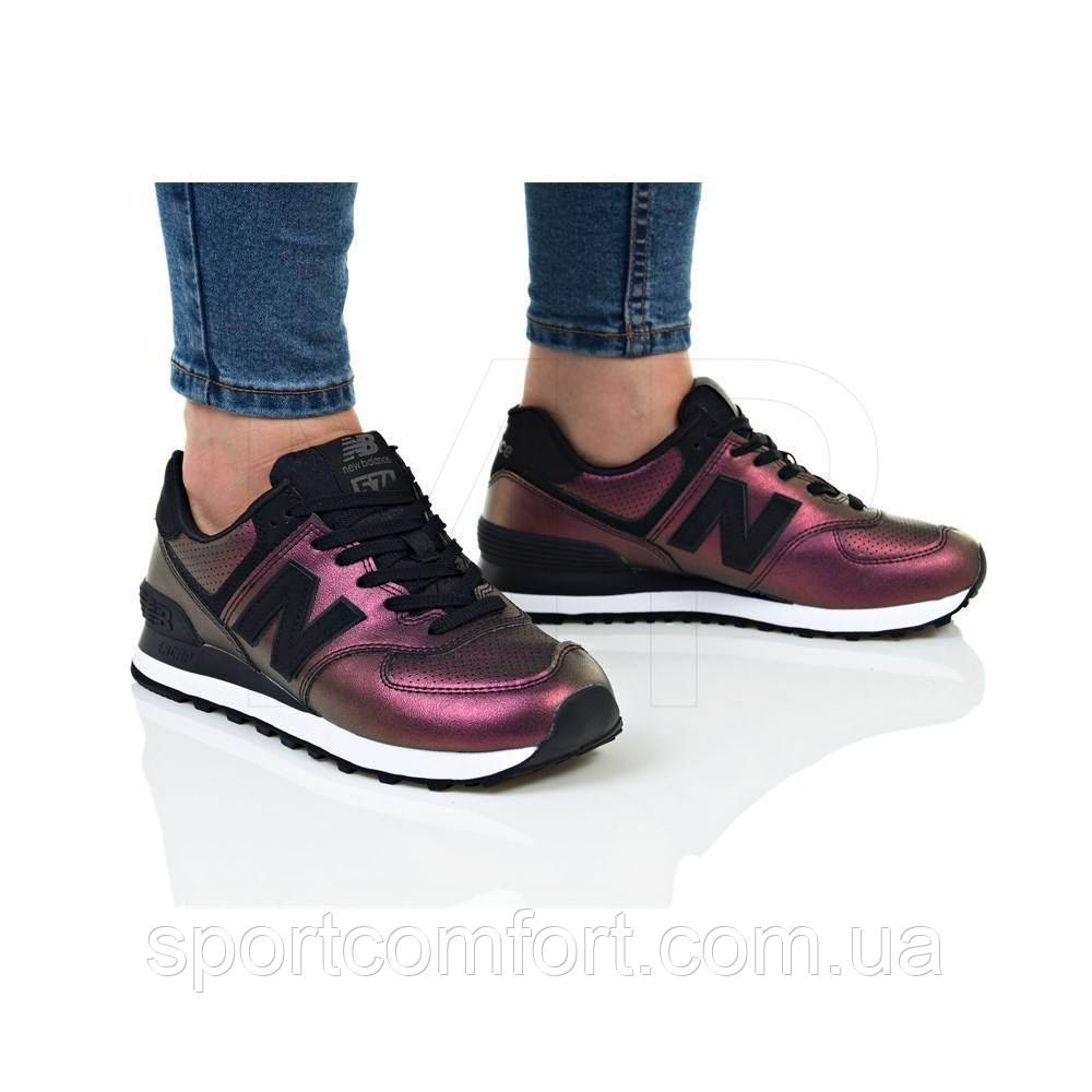 Кроссовки New Balance хамелеон фиолетовые