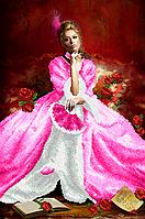 """А2 """"Королева балу(Серія """"Еліт"""")"""" схема для вишивки бісером"""