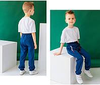 Стильные спортивные штаны детские для мальчика, фото 1