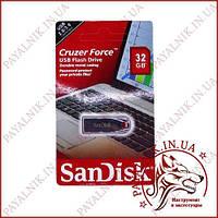 USB Флешка San Disk 32Gb Cruzer Force Silver