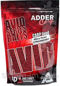 Пелети Adder Carp AC Mikro Pellet 2 мм, Полуниця