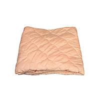Летнее одеяло покрывало полуторка однотонное Бамбук, 145/205, ткань микрофибра