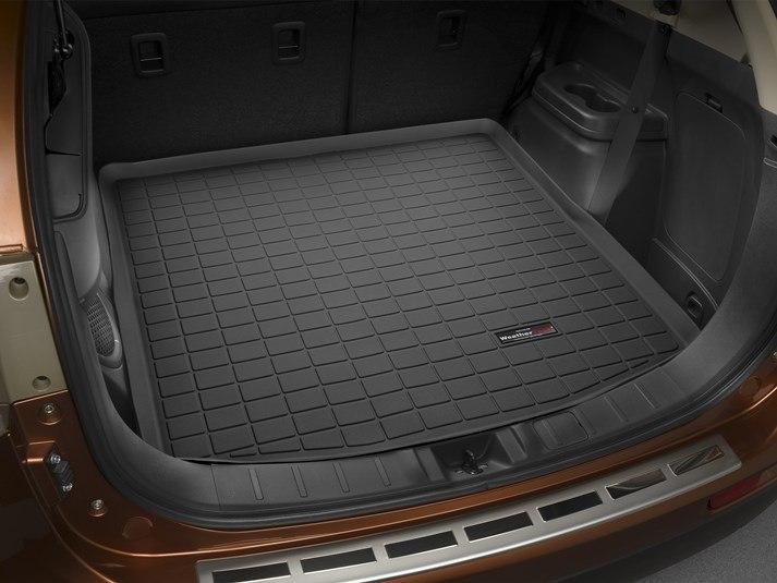 Ковры резиновые WeatherTech Mitsubishi Outlander  2012 - 2015 в багажник черный