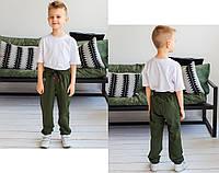 Стильные спортивные штаны детские для мальчика
