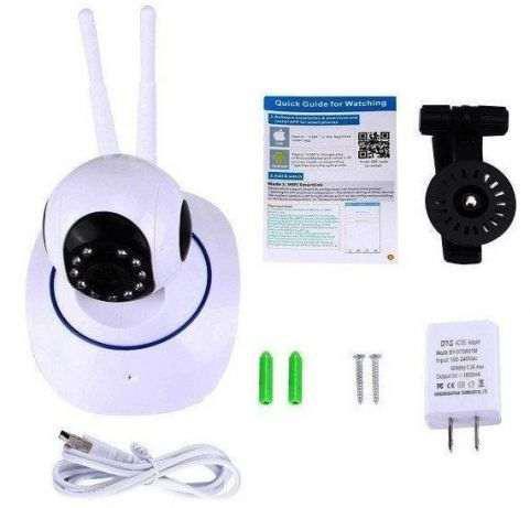 IP камера Wi-Fi (видео няня, онлайн просмотр, запись) 360 градусов подключение к gsm сигнализации 231298