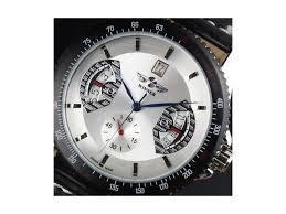 Часы мужские механические Winner skeleton white 231335