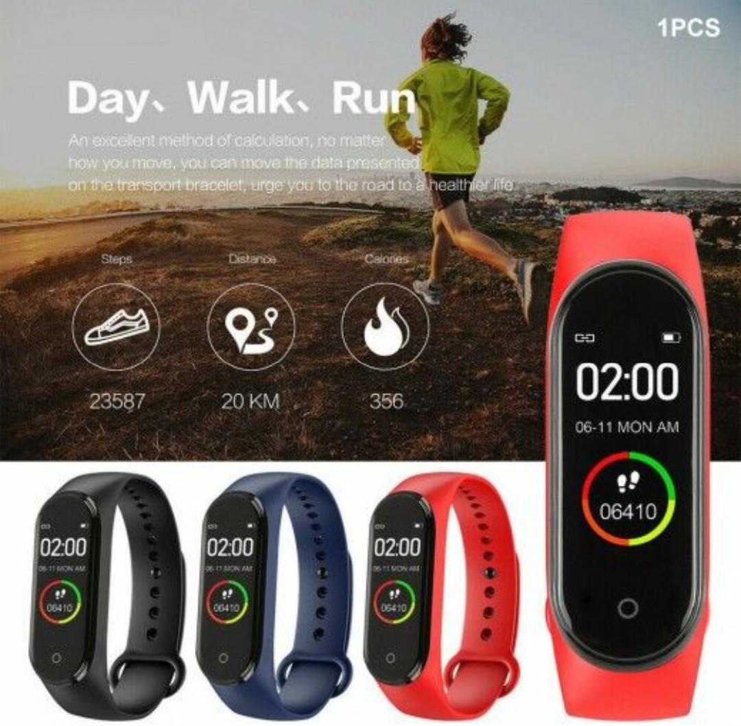 Смарт часы / Фитнес-браслет  фитнес  браслет  Фитнес трекер М4 231509