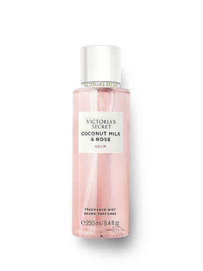 Парфюмированный спрей для тела Victoria's Secret Coconut milk & Rose CALM