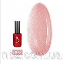 Cover Base Gel № 03 (камуфлирующее базовое покрытие), 7мл