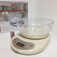 Весы кухонные с чашей до 50кг DOMOTEC DT-01