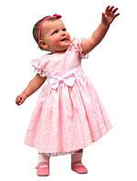 """Платье нарядное детское на х\б подкладе М -980 рост 98 104 110 116 122 тм """"Попелюшка"""", фото 1"""